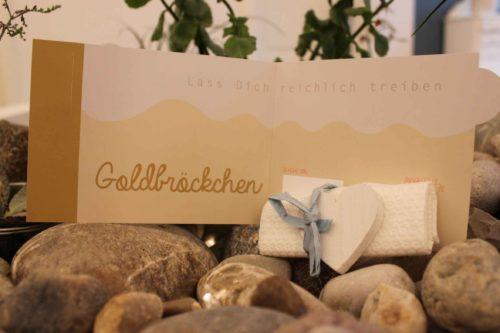 Gutschein / Goldbröckchen